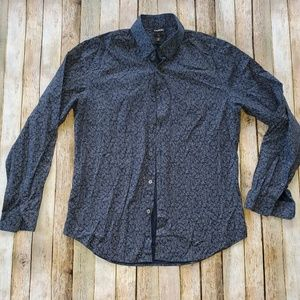 Express Slim Fit Fitted shirt sz S